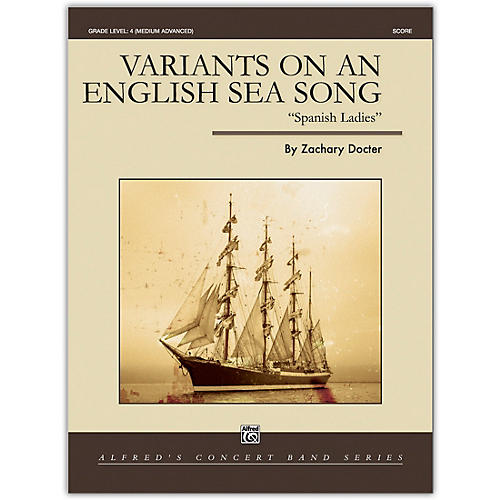 Alfred Variants on an English Sea Song Conductor Score 4 (Medium Difficult)