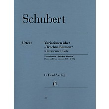 G. Henle Verlag Variations on Trockne Blumen in E minor, Op. Posth. 160, D 802 Henle Music Folios Series Softcover