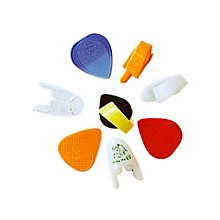 Fred Kelly Picks Variety Bag Guitar Picks 8pcs: 1 Bumblebee, 2 Freedom Fingers, 1 Speed, 1 Slick & 3 Flat Picks