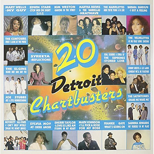 Alliance Various Artists - 20 Detroit Chartbusters