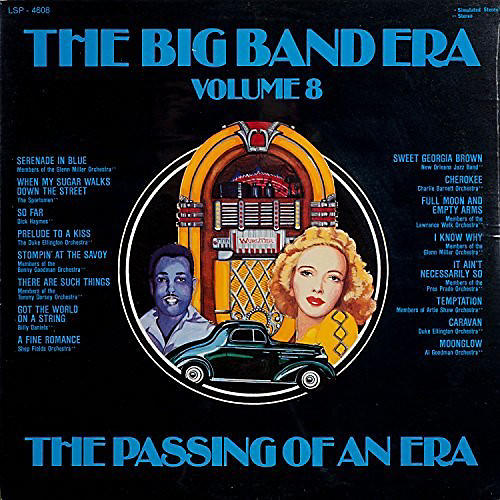 Alliance Various Artists - Big Band Era 8