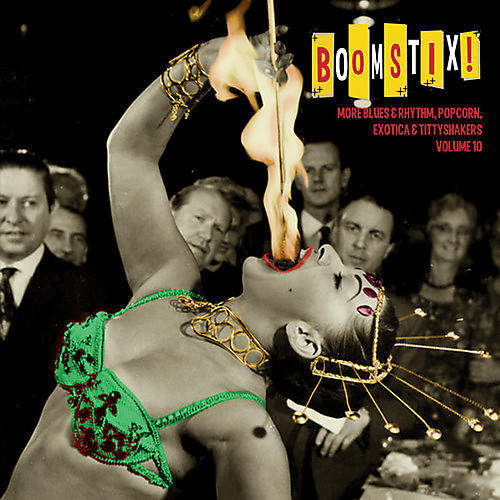 Alliance Various Artists - Boomstix: More Blues & Rhythm Popcorn 10 / Various