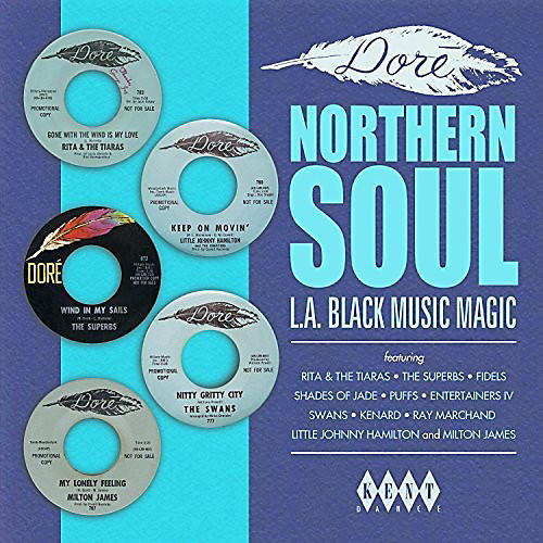 Alliance Various Artists - Dore Northern Soul: L.A. Black Music Magic / Various