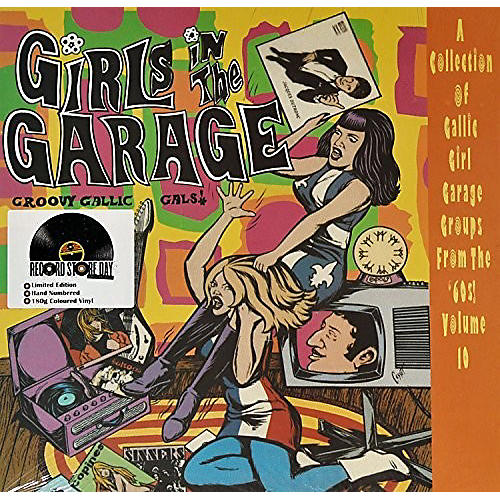 Alliance Various Artists - Girls In The Garage - Groovy Gallic Gals 10 / Var