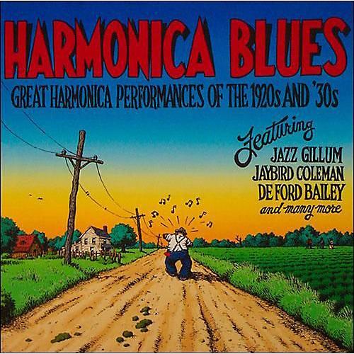 Alliance Various Artists - Harmonica Blues