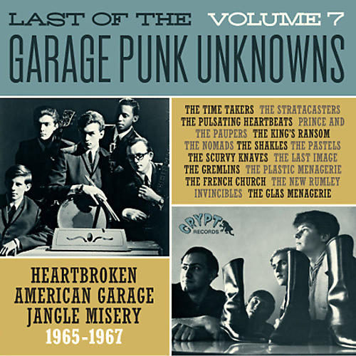 Alliance Various Artists - Last Of The Garage Punk Unknowns 7 / Various