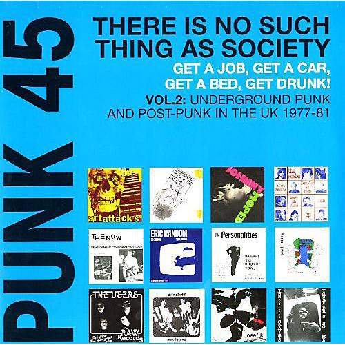 Alliance Various Artists - Punk 45: Vol. 2 Underground Punk In Uk 1977-1981