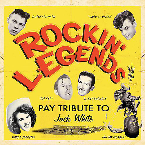 Alliance Various Artists - Rockin Legends Pay Tribute to Jack White / Various
