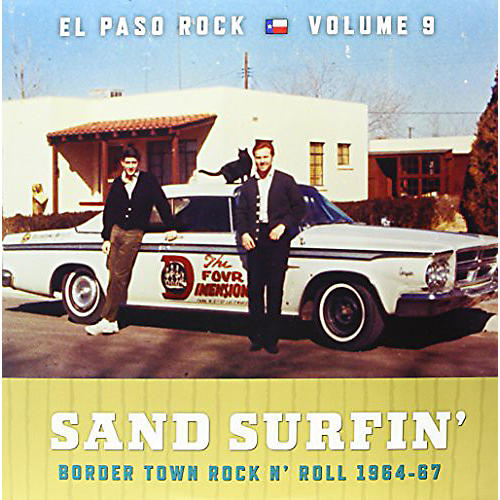 Alliance Various Artists - Sand Surfin: El Paso Rock 9 / Various