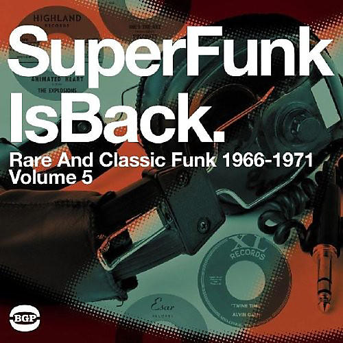 Alliance Various Artists - Super Funk Is Back Vol 5: Rare & Classic Fun / Various