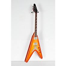 Open BoxHamer Vector Flame Top Electric Guitar