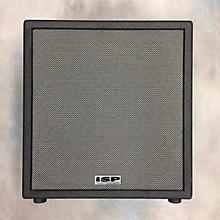 Isp Technologies Vector Sub 1x10 300 Watt Powered Subwoofer