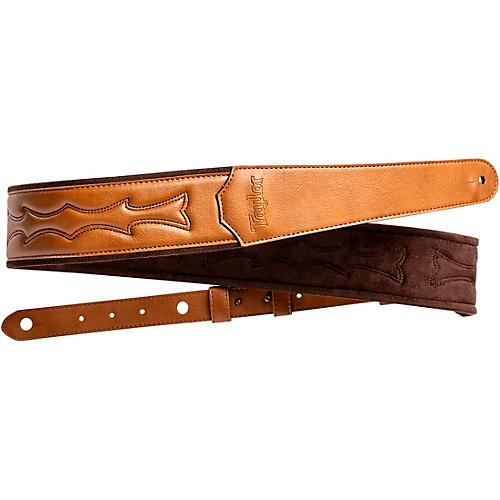 Taylor Vegan Leather Guitar Strap Tan 2.75 in.