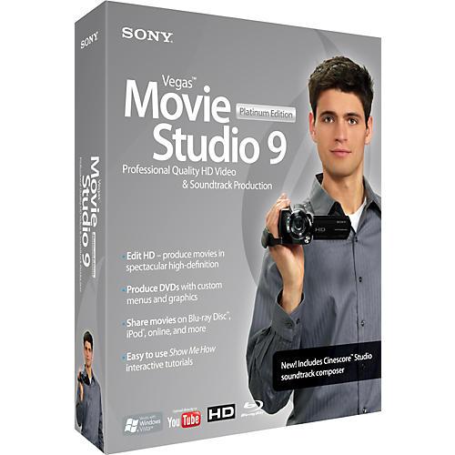 Sony Vegas Movie Studio 9 Platinum Edition