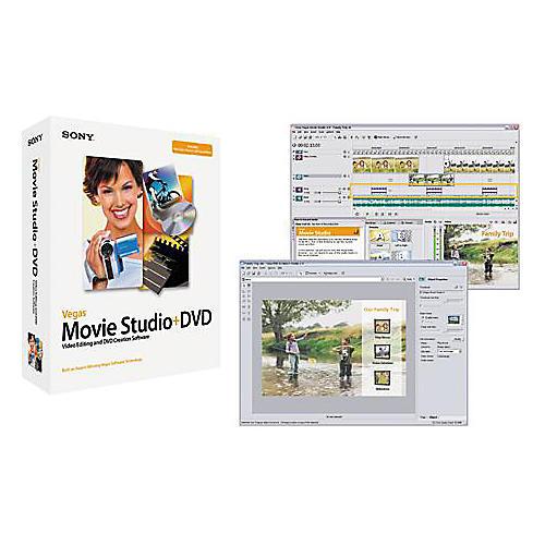 Sony Vegas Movie Studio + DVD