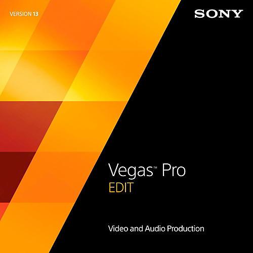 Magix Vegas Pro 13 Edit