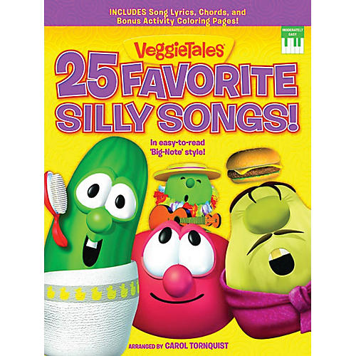 Word Music VeggieTales  - 25 Favorite Silly Songs! Sacred Folio Series