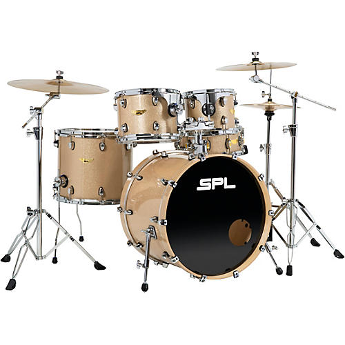 Sound Percussion Labs Velocity 5-Piece Shell Pack Gold Sequin