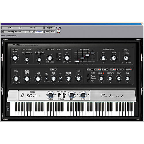 Digidesign Velvet - Virtual Electric Piano Educational Edition