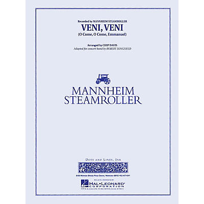 Mannheim Steamroller Veni, Veni (O Come, O Come Emmanuel) Concert Band Level 3 by Mannheim Steamroller Arranged by Longfield
