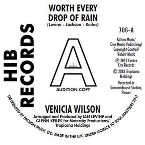 Alliance Venica Wilson - Worth Every Drop of Rain