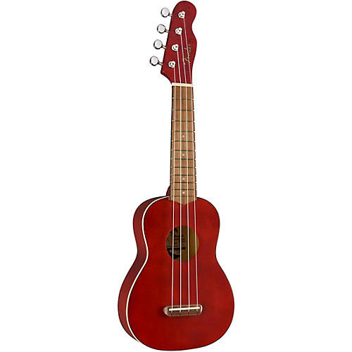Fender Venice Soprano Ukulele Walnut Fingerboard Cherry