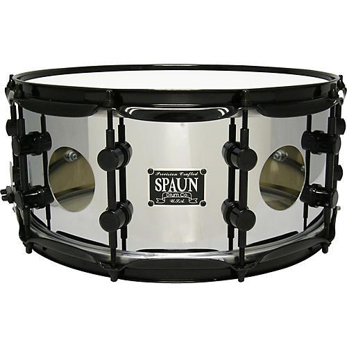 Spaun Vented Steel Chrome Snare