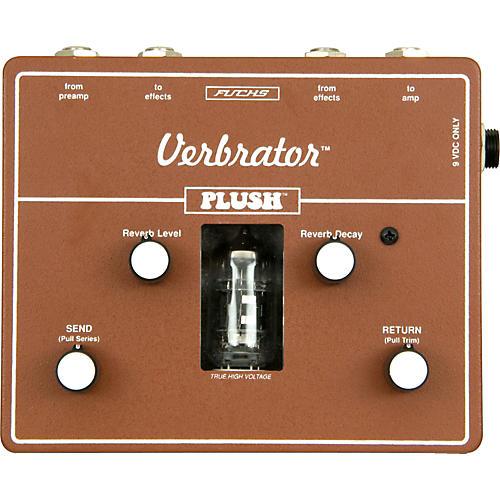 Plush Verbrator Loop and Reverb Guitar Effects Pedal