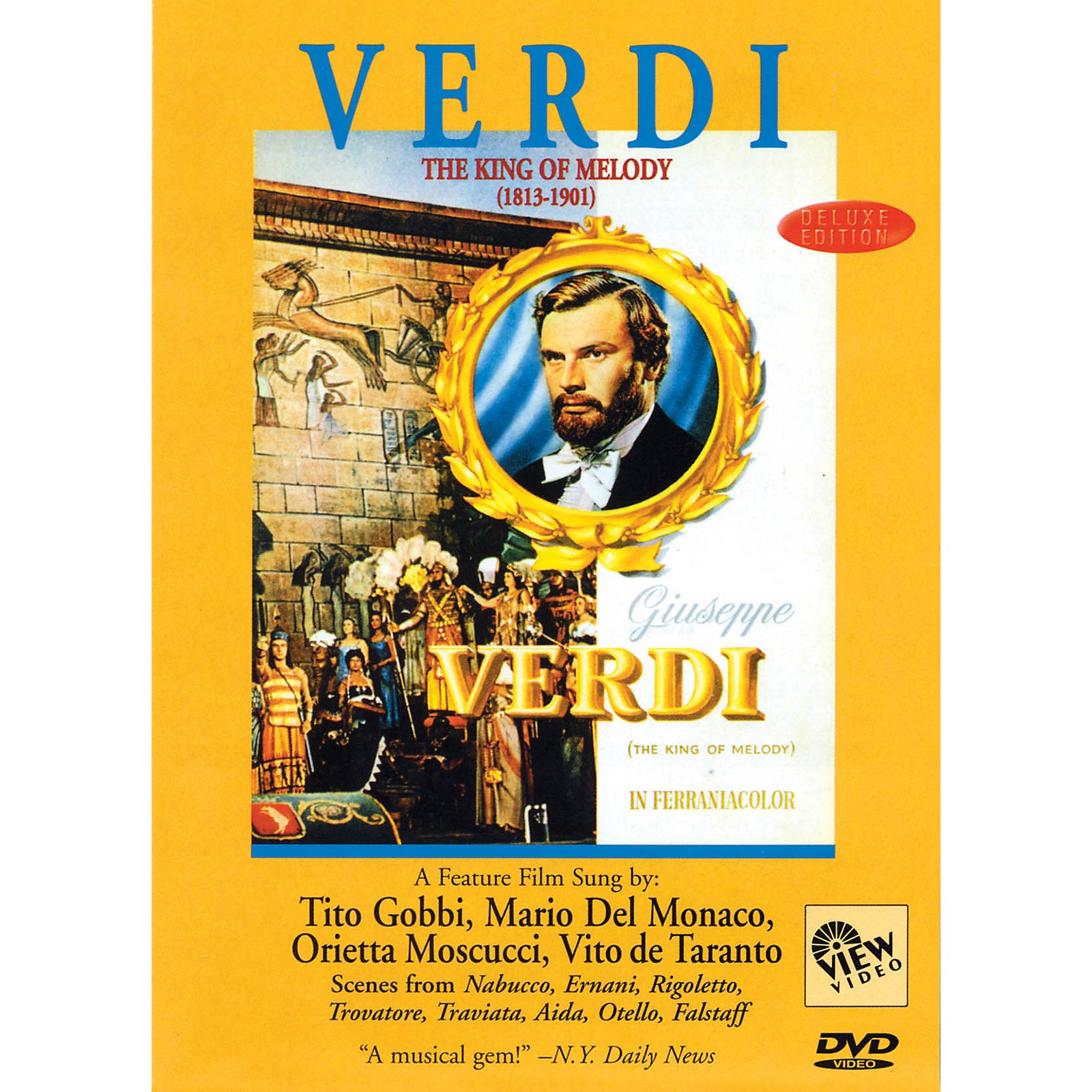 View Video Verdi - The King of Melody Live/DVD Series DVD
