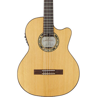 Kremona Verea Cutaway Acoustic-Electric Nylon Guitar