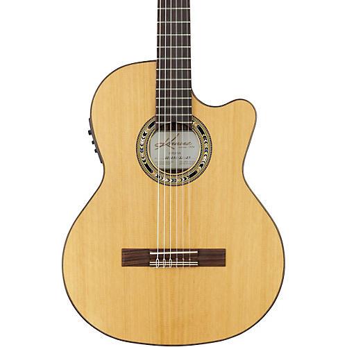 Kremona Verea Cutaway Acoustic-Electric Nylon Guitar Condition 1 - Mint Natural
