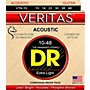 DR Strings Veritas - Perfect Pitch with Dragon Core Technology Custom Light Acoustic Strings (10-48)