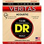 DR Strings Veritas - Perfect Pitch with Dragon Core Technology Light Acoustic Strings (13-56)