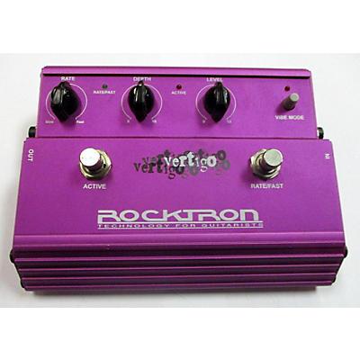 Rocktron Vertigo Rotating Vibe Effects Pedal Effect Pedal