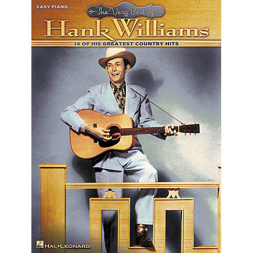 Hal Leonard Very Best Of Hank Williams For Easy Piano