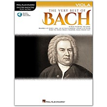 Hal Leonard Very Best of Bach for Viola - Instrumental Play-Along Book/Audio Online