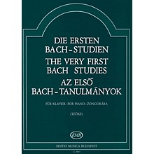 Editio Musica Budapest Very First Bach Studies-pno EMB Series by Johan Sebastian Bach