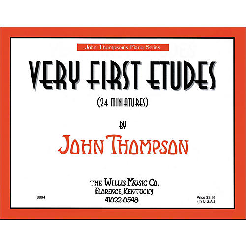 Willis Music Very First Etudes - 24 Miniatures Early Elementary Level