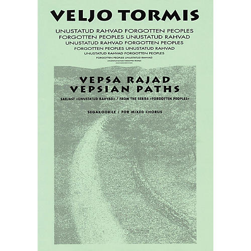 Boosey and Hawkes Vespa Rajad (Vespian Paths) (from the Series Forgotton Peoples) SATB DV A Cappella by Veljo Tormis