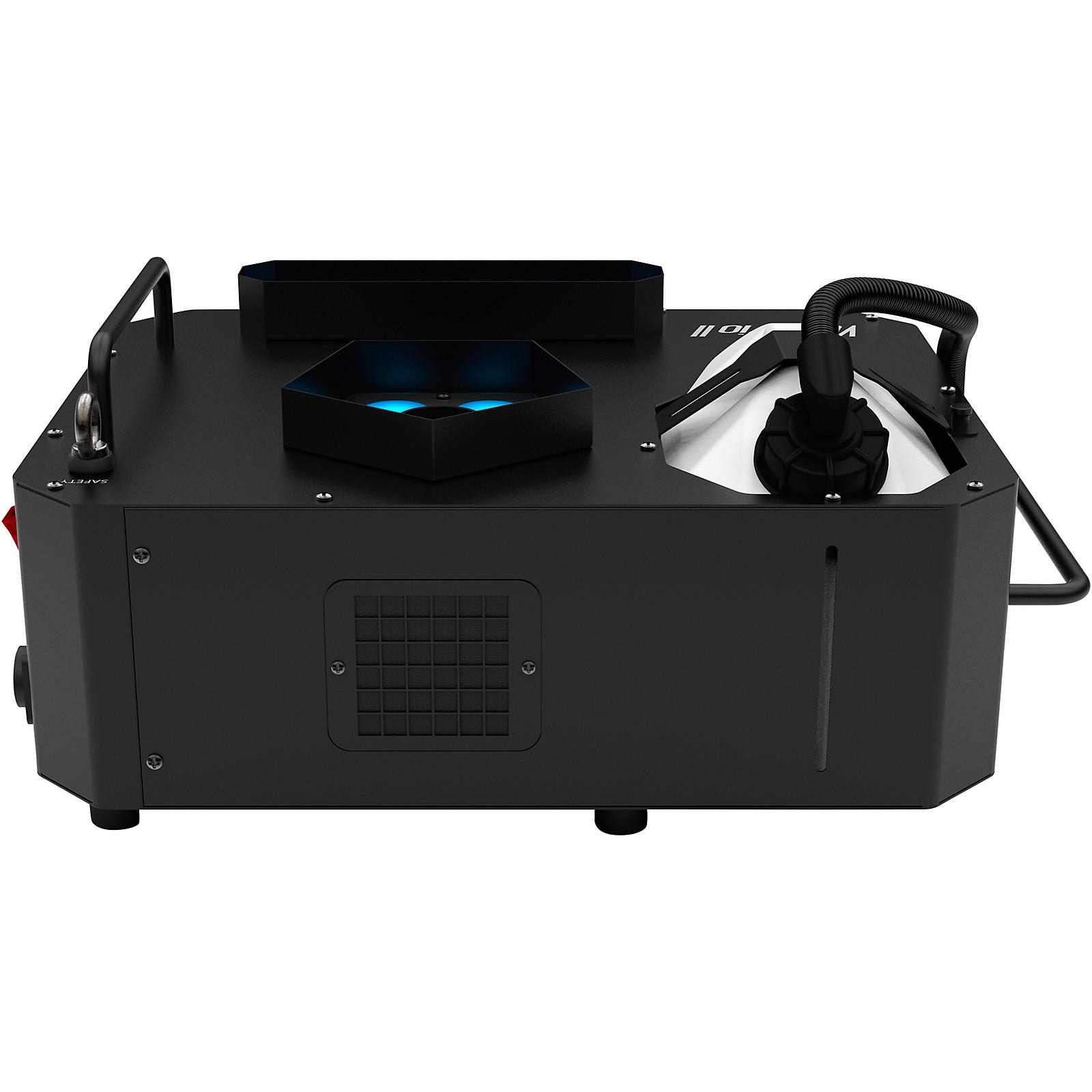 CHAUVET Professional Vesuvio II Fog Machine with RGBA+UV LED Lights