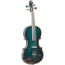 Vibrato-AE Series Acoustic-Electric Violin Metallic Green Burst