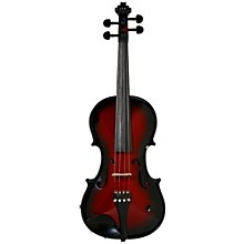 Vibrato-AE Series Acoustic-Electric Violin Red Berry Burst