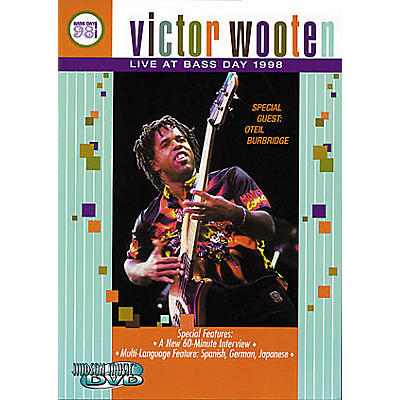 Hudson Music Victor Wooten: Live at Bass Day 1998 DVD