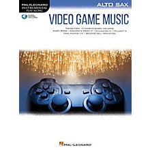 Hal Leonard Video Game Music for Alto Sax Instrumental Play-Along Series Softcover Audio Online