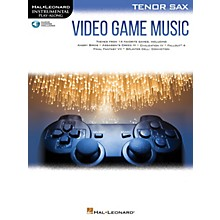 Hal Leonard Video Game Music for Tenor Sax Instrumental Play-Along Book/Audio Online