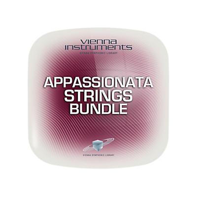 Vienna Instruments Vienna Appassionata Strings Bundle Extended (requires standard) Software Download