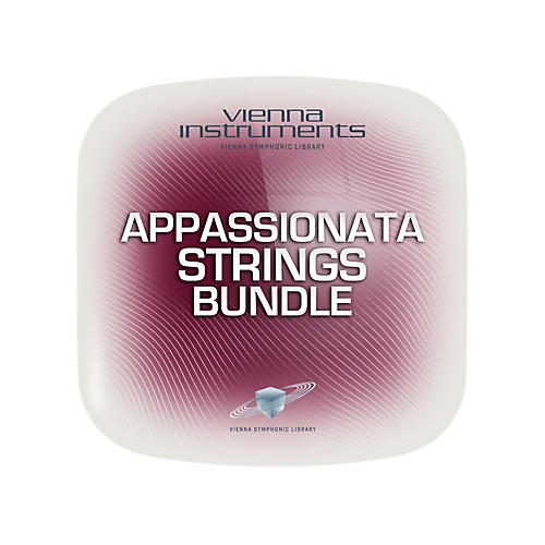 Vienna Instruments Vienna Appassionata Strings Bundle Extended (requires standard) Software Download