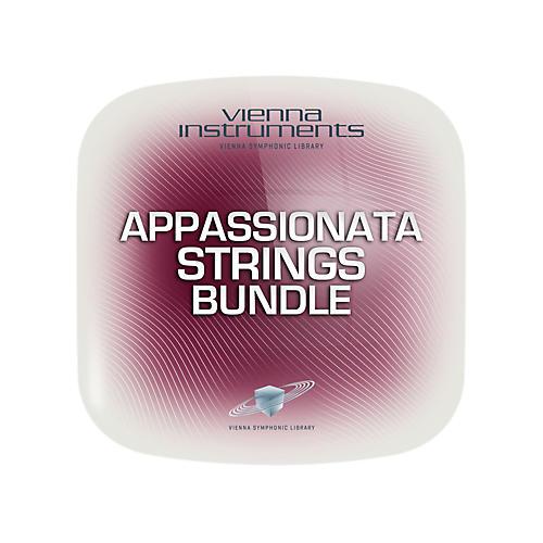 Vienna Instruments Vienna Appassionata Strings Bundle Standard Software Download