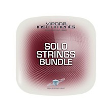 Vienna Instruments Vienna Solo Strings Bundle Extended (requires standard) Software Download