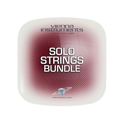 Vienna Instruments Vienna Solo Strings Bundle Standard Software Download
